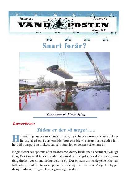 Vandposten 2011 nr. 1