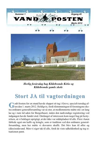 Vandposten 2012 nr. 1
